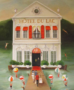 Janet Hill Studio - Hotel du Lac Art Print - 8.5 X 11 - Miss Scarlett Boutique