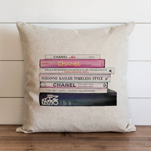 Chanel Books Down Pillow