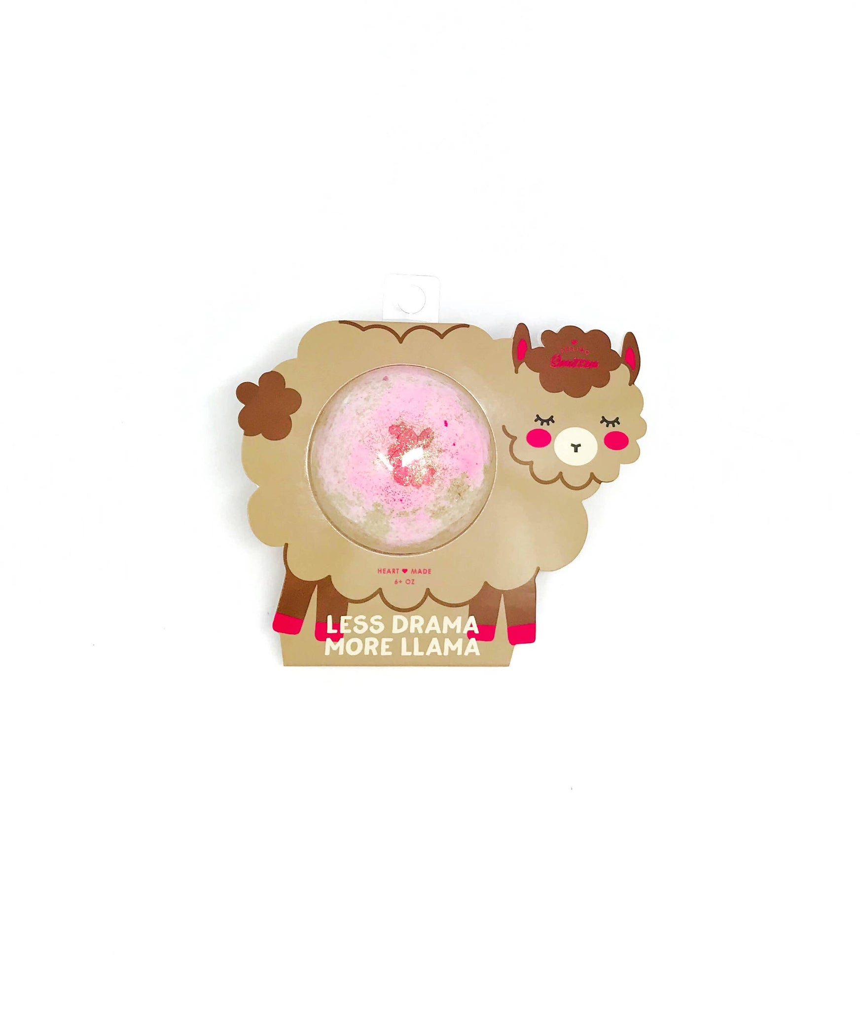 Feeling Smitten - Less Drama More a Llama Bath Bomb - Clamshell Packaging - Miss Scarlett Boutique