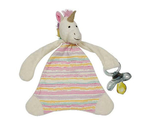 Maison Chic - Trixie The Unicorn Pacifier Blankie