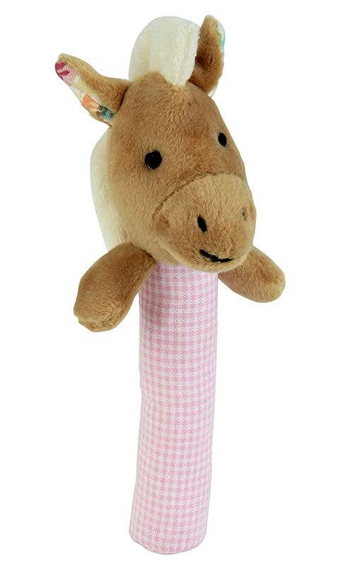 Maison Chic - Nellie The Horse Stick Rattle
