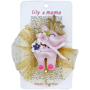 Lily and Momo - Darby The Deer Hair Clips