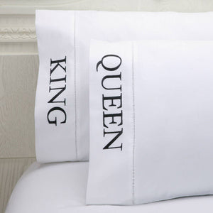 Peking Handicraft - King and Queen Pillow Case (One Pair)