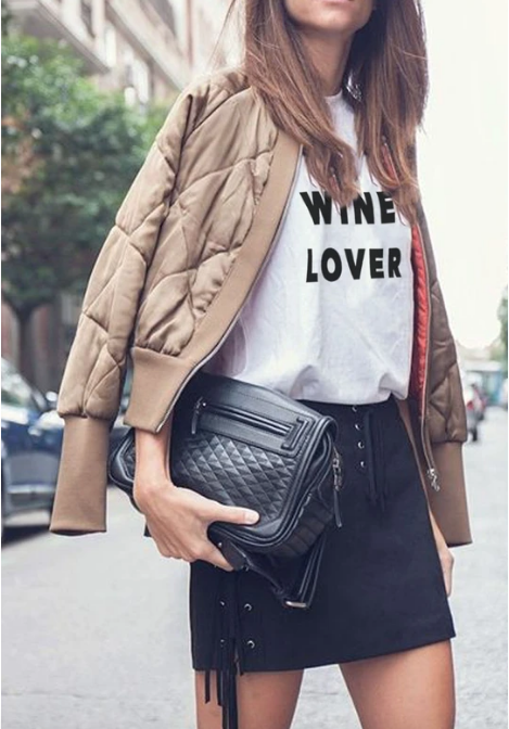 LA Trading Co - Classic Tee - Wine Lover - Miss Scarlett Boutique
