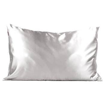 KITSCH - Satin Pillowcase - Silver