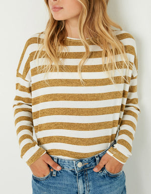 Hayden Girls Striped Tshirt