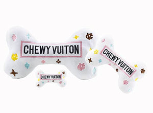 Haute Diggity Dog - White Chewy Vuiton Bones Large