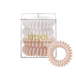 KITSCH - Nude Hair Coils - Pack of 4 - Miss Scarlett Boutique