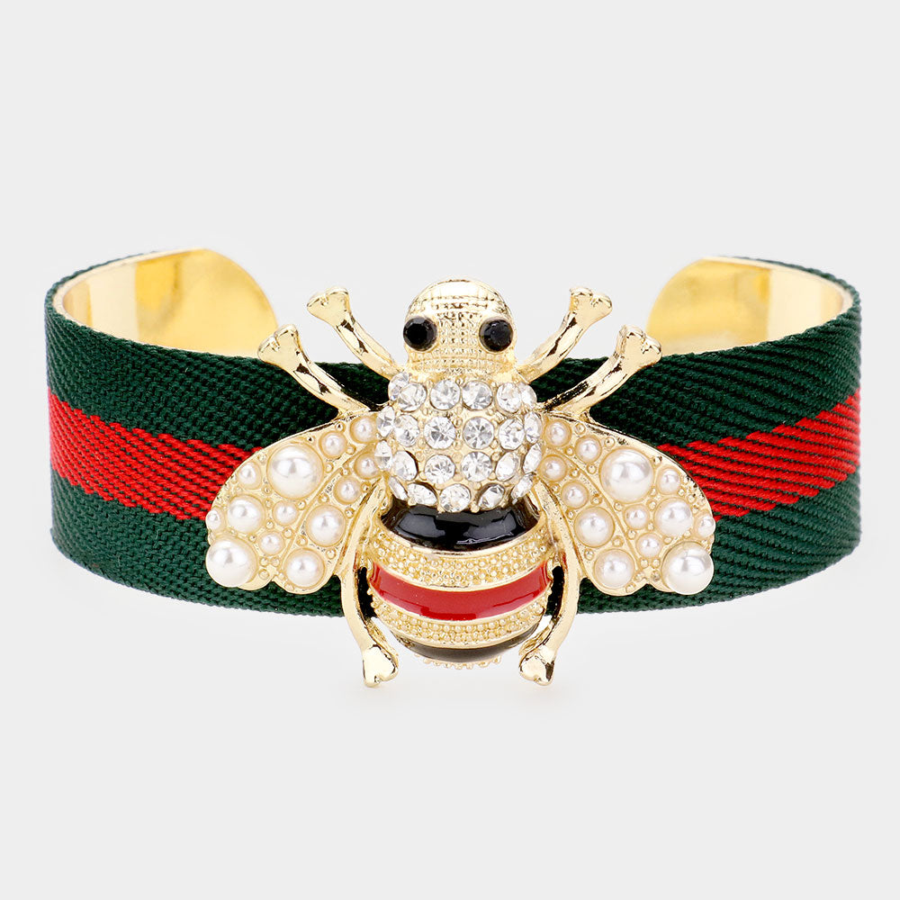 Honey Bee Cuff