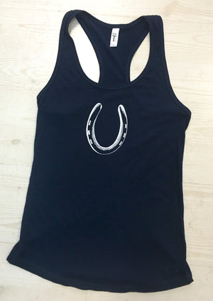 Horseshoe Racer Back Tank - Miss Scarlett Boutique