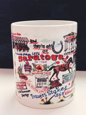 and they're off at Saratoga Mug - Miss Scarlett Boutique