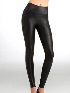 Spanx faux leather  leggings - Black - Miss Scarlett Boutique