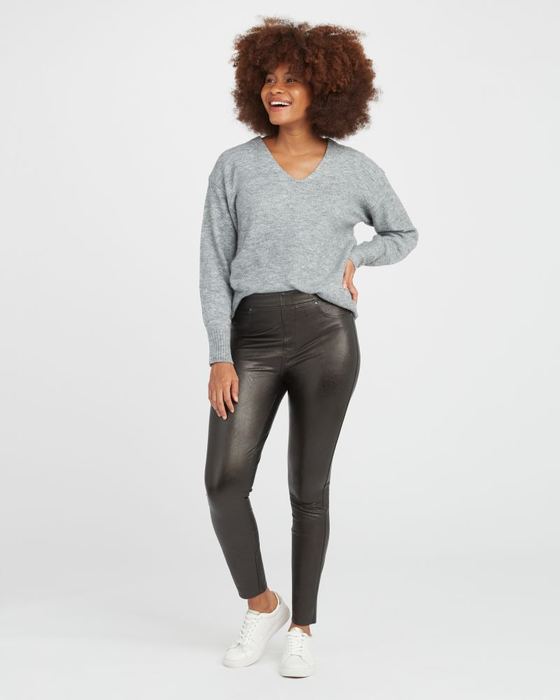 Spanx Leather-Like Skinny