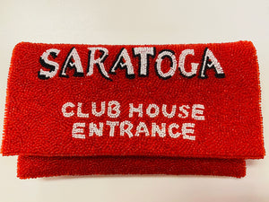 Beaded Saratoga Clubhouse Clutch