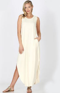 Side Slit Maxi - Miss Scarlett Boutique