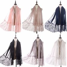 Lace Voile Scarf - Miss Scarlett Boutique