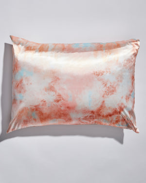KITSCH - Satin Pillowcase - Sunset Tie Dye