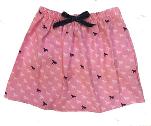 Girls Horse Print Skirt - Miss Scarlett Boutique