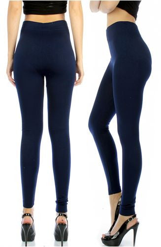 Fleece Lined Leggings - Miss Scarlett Boutique