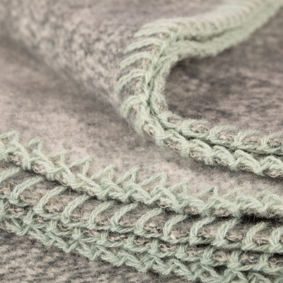 homestead blanket | wool & cotton blend