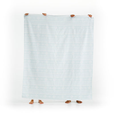 vista ocean organic cotton Queen Size