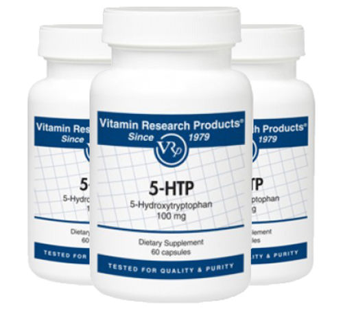5-HTP - 50 mg, 60 capsules by Vitamin Research Products
