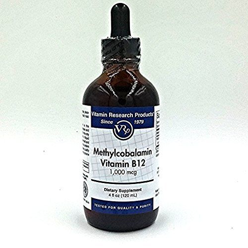 B12 Vitamin (Methylcobalamin) Sublingual Liquid (4oz 1000mcg per ml)