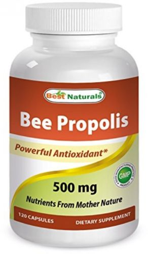 Best Naturals Bee Propolis 500 mg 120 Capsules