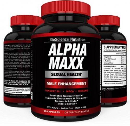AlphaMAXX Male Enhancement ? Ginseng, Muira Puama, Tribulus ? BioScience
