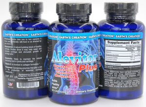 Alevitor Plus | Triple Strength Glucosamine | 30MG Manganese |For Healthy Joints