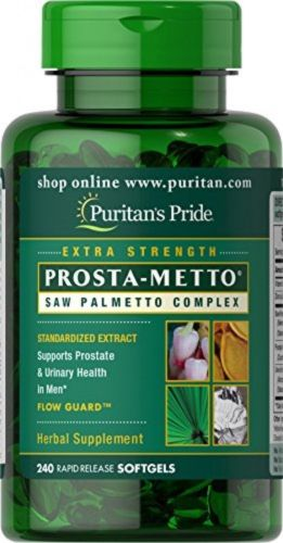 240 Gel | Prosta-Metto Saw Palmetto | Urinary Complex For Men by Puritans Pride