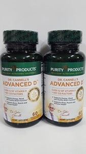 2PK Dr Cannells Advanced D | Vitamin D Super Formula |60 Caps by Purity Products