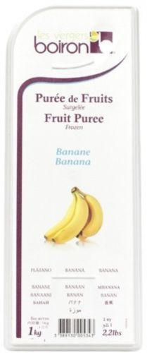 Banana Fruit Puree Boiron - 2.2 Lbs Kosher
