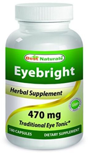 Best Naturals Eyebright 470 mg 180 Capsules