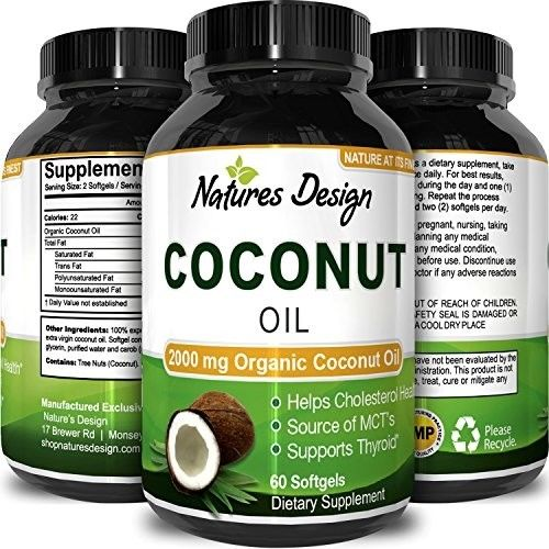 #1 Pure and Organic Coconut Oil - Cold Pressed - Highest Grade and Quality - -