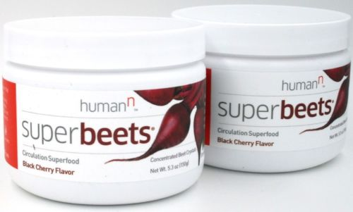 2PK NON-GMO SuperBeets | Circulation Superfood | Nitric Oxide Boost | Cherry Fl
