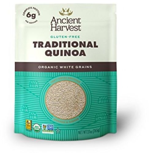 Ancient Harvest Traditional White Organic Quinoa (Bag), 27 Ounce