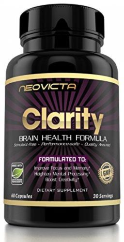 #1 Brain Nootropic | Mind, Clarity, Memory, Mood and Energy Boost by Neovicta
