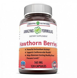 Amazing Formulas Hawthorn Berries 100% Pure Hawthorne Berry Extract * Powerful