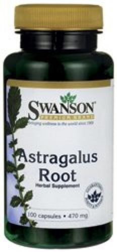 Astragalus Root 470 mg 100 Caps by Swanson