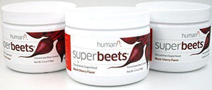 3PK Super Beets Nitric Oxide Booster | SuperBeets Superfood | Cherry! | 30 serv