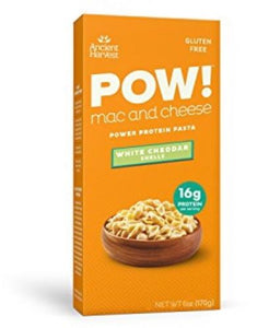 Ancient Harvest Gluten Free Red Lentil and Quinoa Mac and Cheese Shells, White