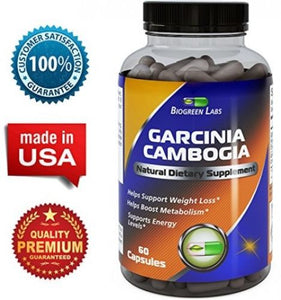 95% HCA Garcinia Cambogia Extract ? Carb Blocker ? Natural Weight Loss ?