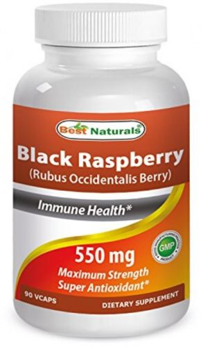 Best Naturals Black Raspberry 550 mg 90 Veggie Capsules