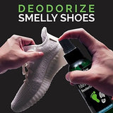 All Natural Shoe Deodorizer and Foot Deodorant Spray - Made in USA - with Tea -