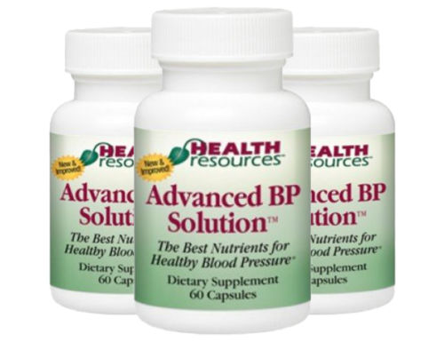 Advanced BP Solution - Healthy Blood Pressure - 3 Pack! - by Health Resources