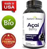 Acai Berry Detox Weight Loss Supplements Antioxidant Superfood Increase Energy