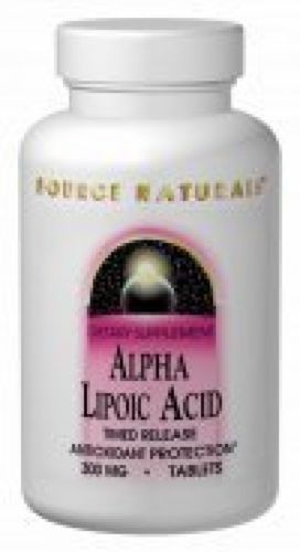 Alpha Lipoic Acid 100mg Source Naturals, Inc. 30 Tabs