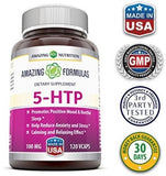 Amazing Formulas 5 HTP Supplement * 100mg Hydroxytryptophan Capsules Made from