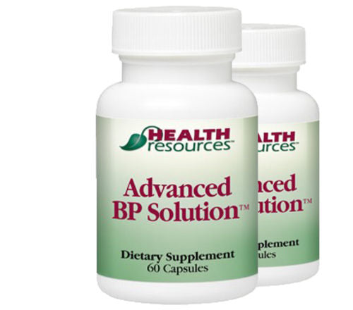 Advanced BP Solution 2 Pack!! by Health Resources